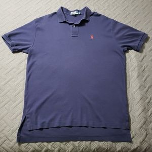 MEN'S RALPH LAUREN POLO COLLAR SHIRT.